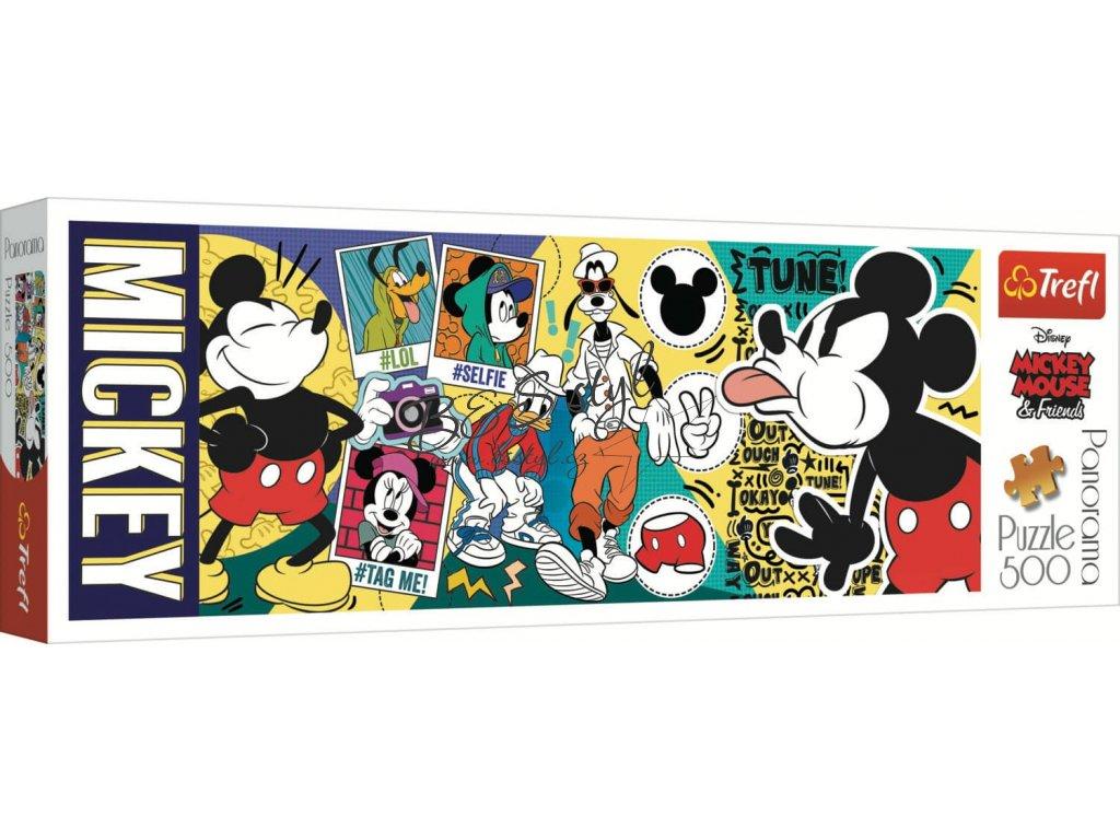 panoramaticke puzzle mickey