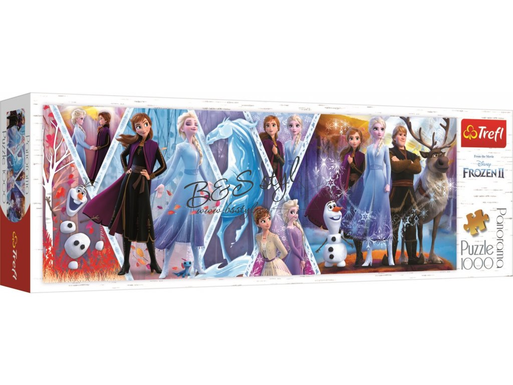 PANORAMATICKE PUZZLE FROZEN