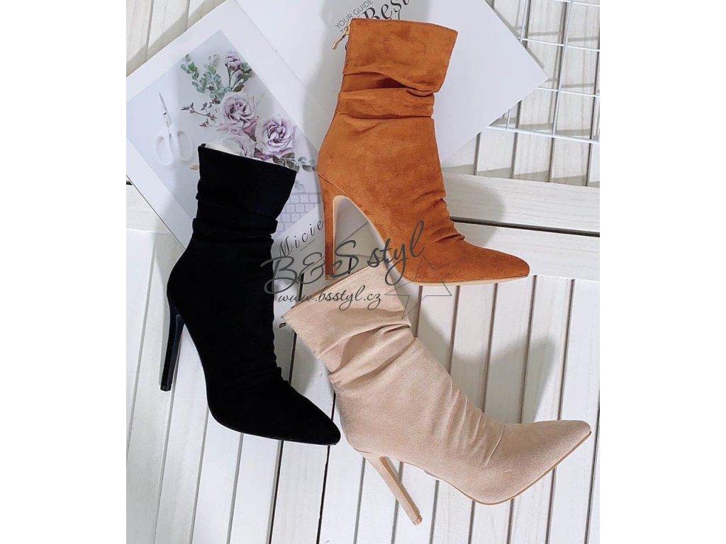 luxusní boty mondi cerne