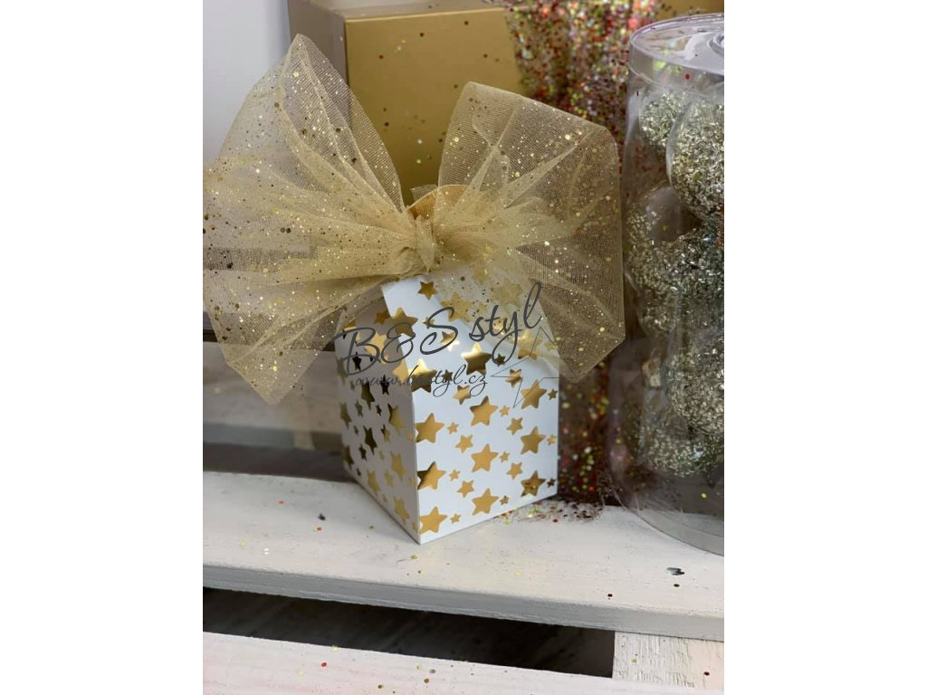sada krabicky 2pack zlate
