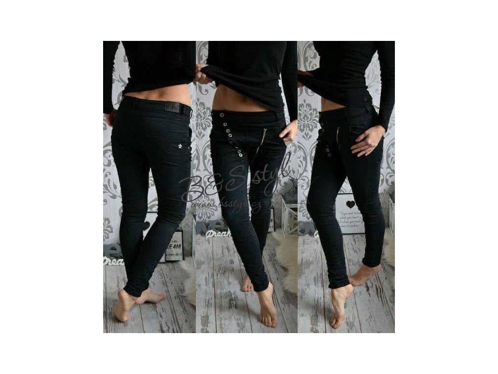 jeans boss černé