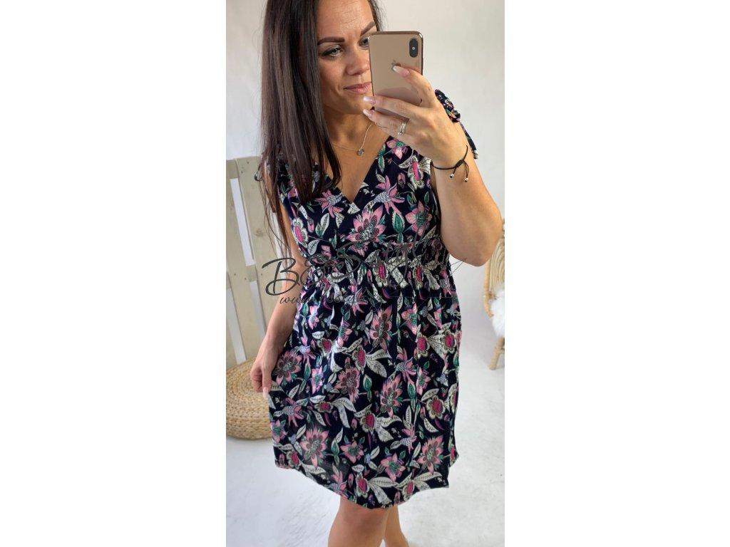 Krátké šaty žabička Ibiza - 9571