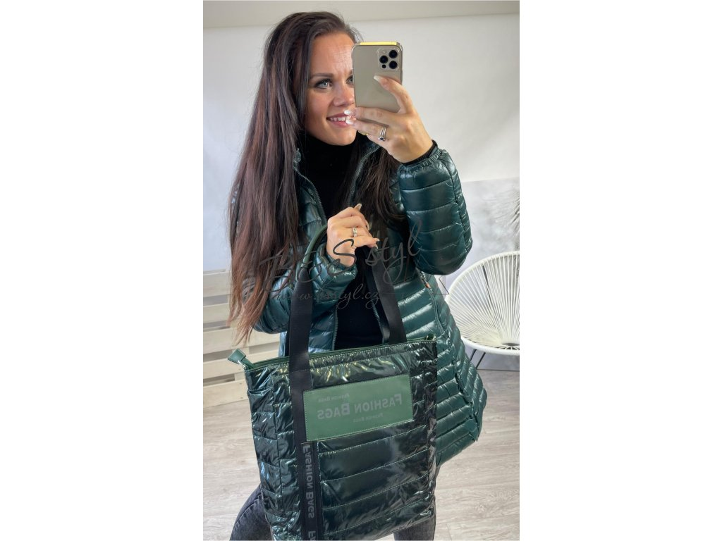 kabelka fashion zelena
