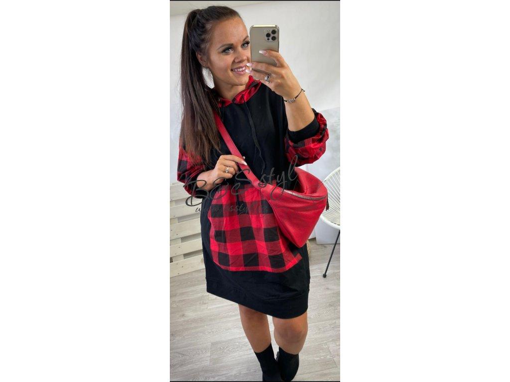 Mikinové šaty Cube