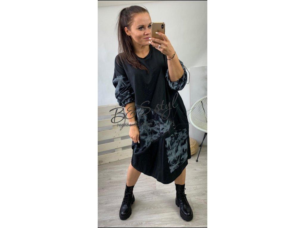 Šaty Asymetrick new