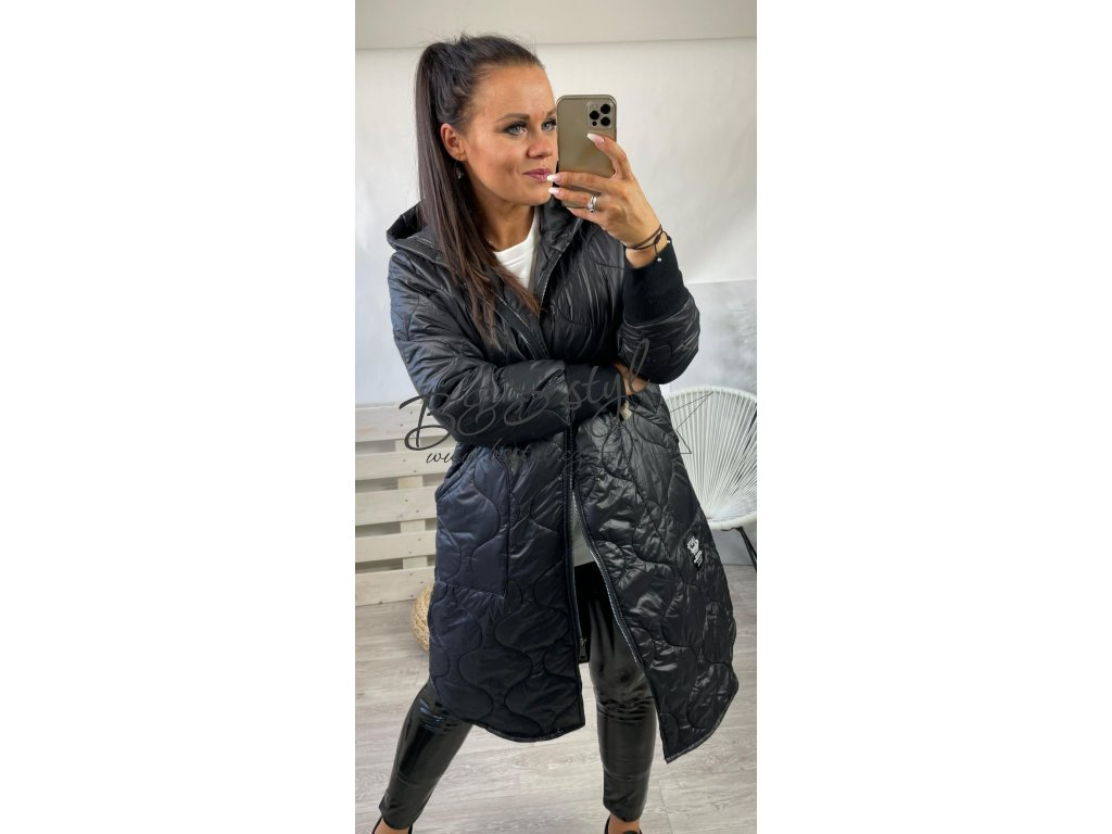 kabát funny cerny 2