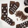 ponožky kafe