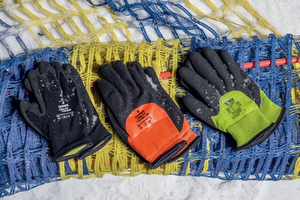 Zimní pracovní rukavice Uvex