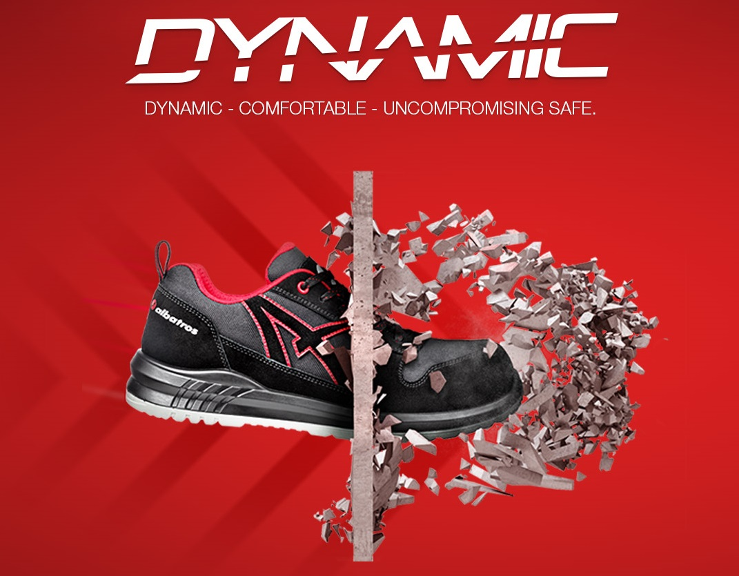 Bezpečnostní obuv Albatros Dynamic
