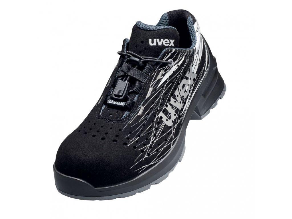 Bezpečnostní obuv Uvex 1 print 6556 S1 ESD SRC