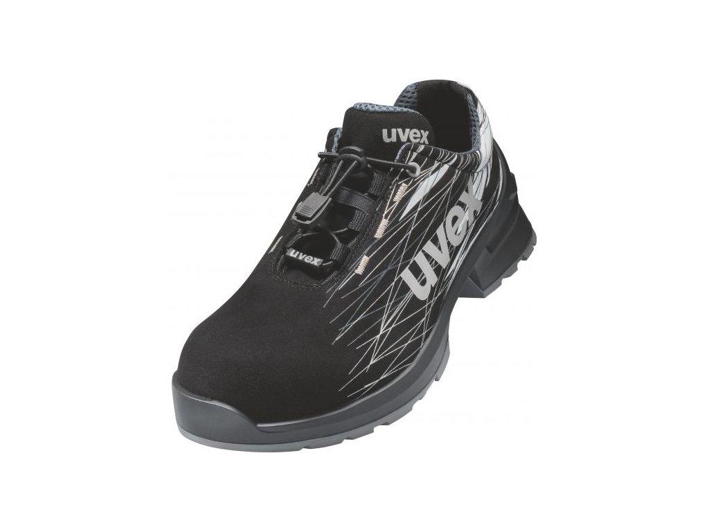 Bezpečnostní obuv Uvex 1 print 6557 S2 ESD SRC