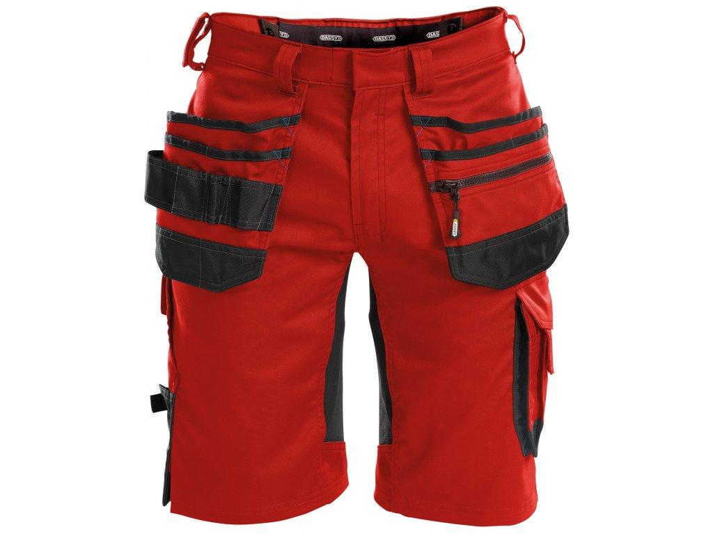 Šortky Trix - červená/černá