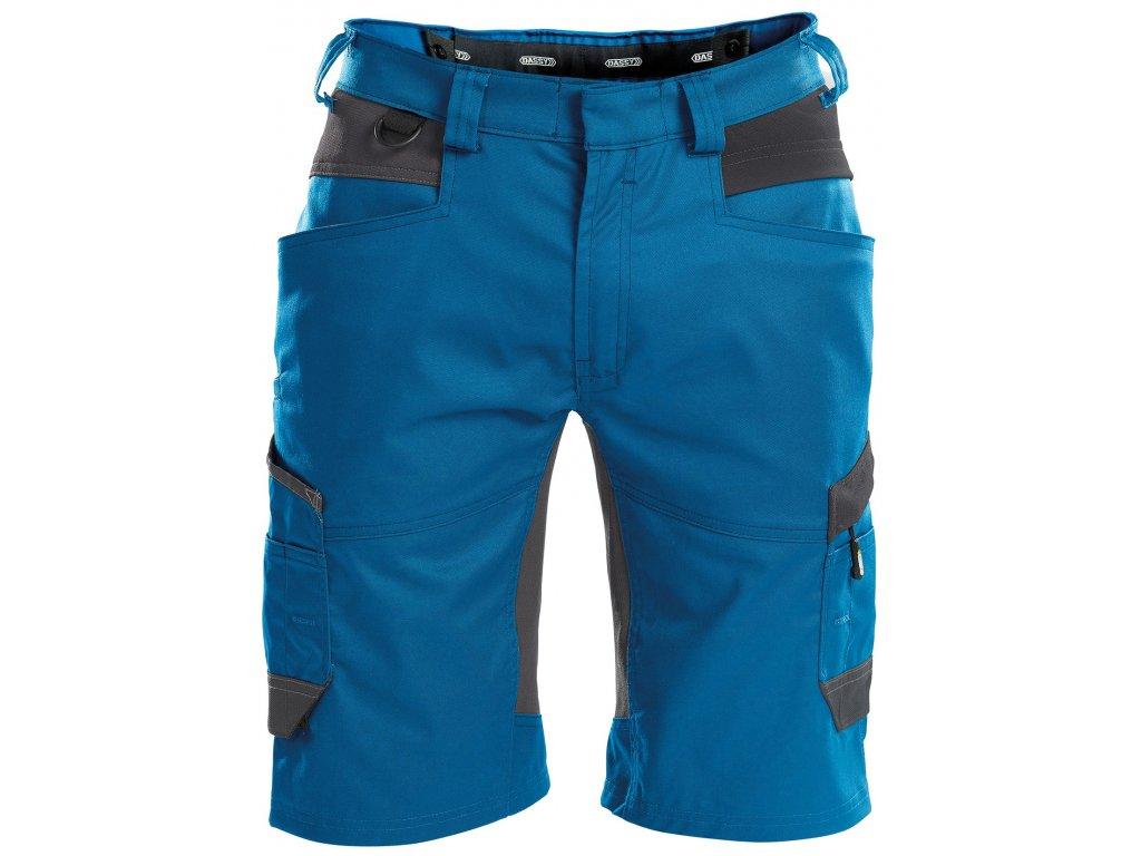 Šortky Axis - azurově modrá/antracitová