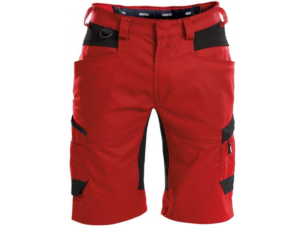 Šortky Axis - červená/černá