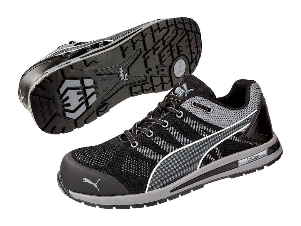 Bezpečnostní obuv Puma Elevate Knit Black Low S1P ESD SRC