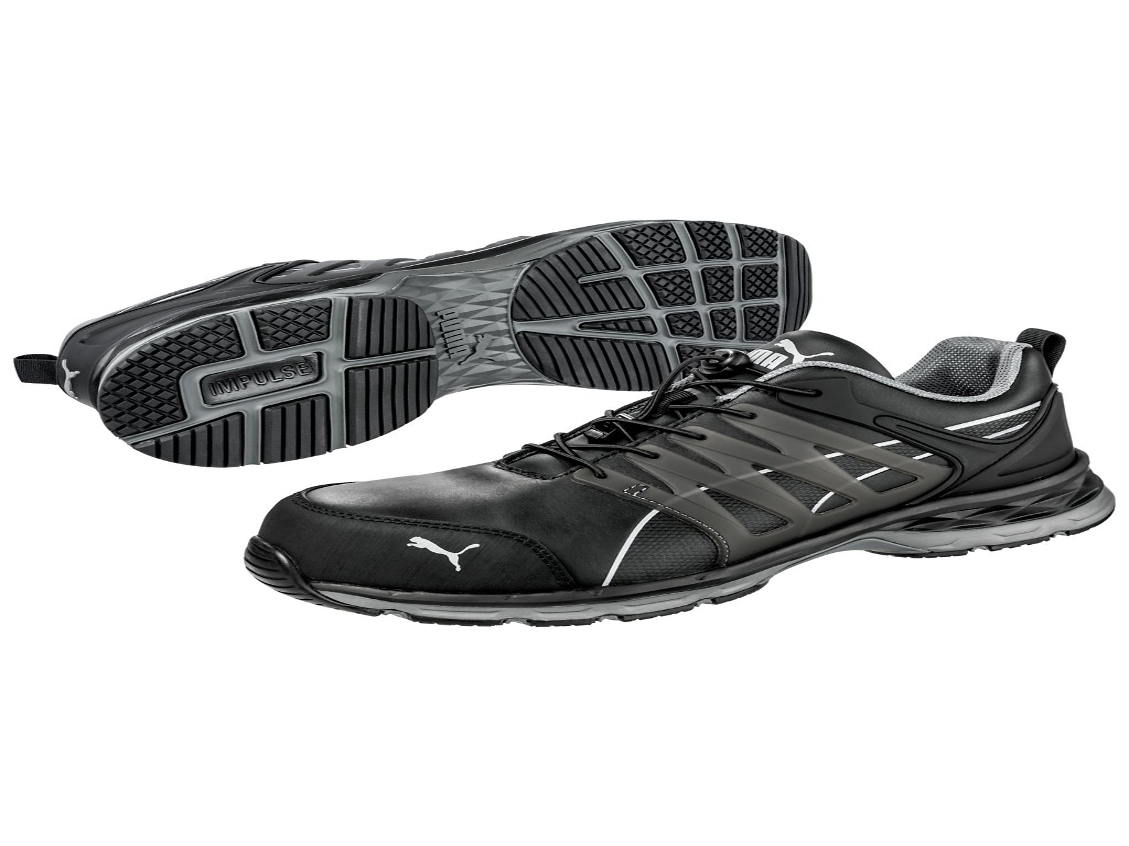 Bezpečnostní obuv Puma Velocity 2.0 Black Low S3 ESD HRO SRC