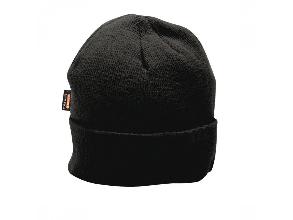 B013 Zateplená čepice Insulatex - černá