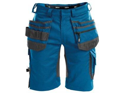 Šortky Trix - azurově modrá/antracitová