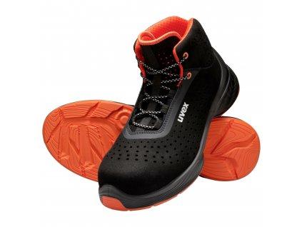 Bezpečnostní kotníková obuv uvex 1 G2 6847 S1 ESD SRC