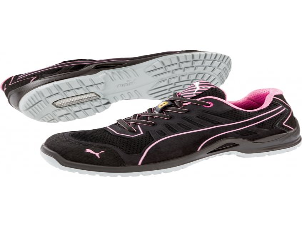 Bezpečnostní obuv Puma Fuse TC Pink WNS Low S1P ESD SRC