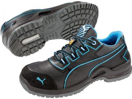 Bezpečnostní obuv Puma Niobe Blue WNS Low S3 ESD SRC