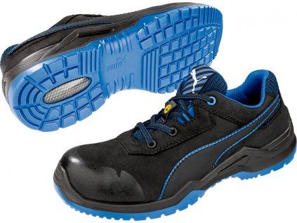Bezpečnostní obuv Puma Argon Blue Low S3 ESD SRC