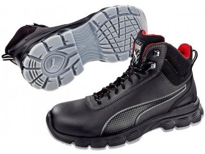 Bezpečnostní obuv Puma Pioneer Mid S3 ESD SRC