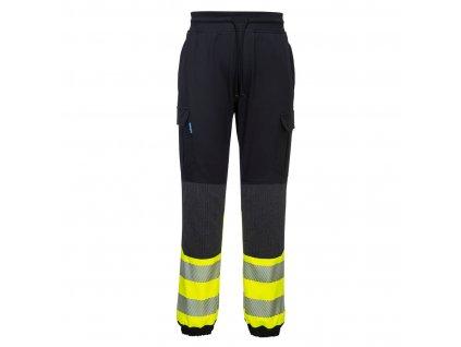 KX341 Kalhoty KX3 HiVis Flexi - žlutá