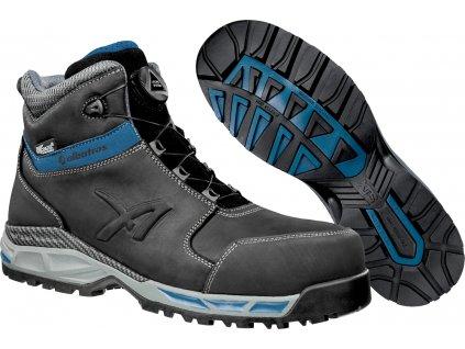 Bezpečnostní obuv Tofane Black QL CTX MID S3 ESD WR HRO SRC