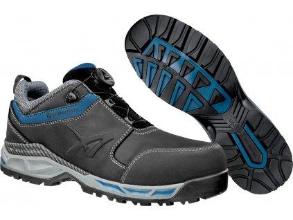 Bezpečnostní obuv Tofane Black QL Low S3 ESD HRO SRC