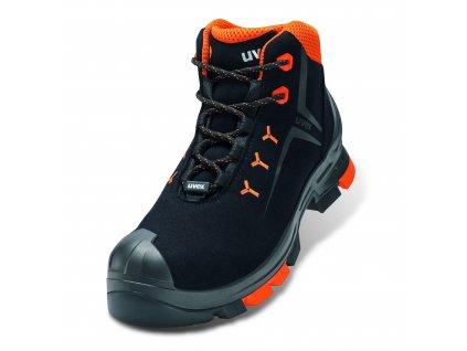 Bezpečnostní kotníková obuv Uvex 2 6509 S3 ESD SRC