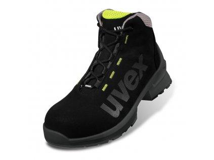 Bezpečnostní kotníková obuv Uvex 1 duo 6563 S2 ESD SRC