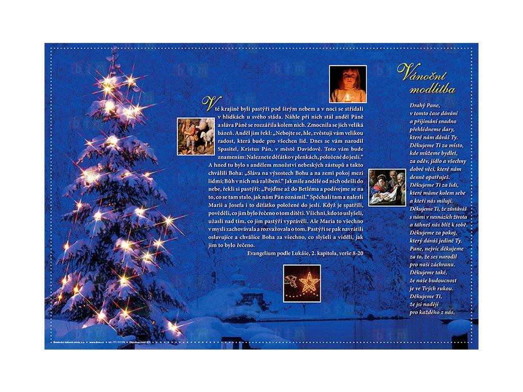 K11 vánoční prostírání