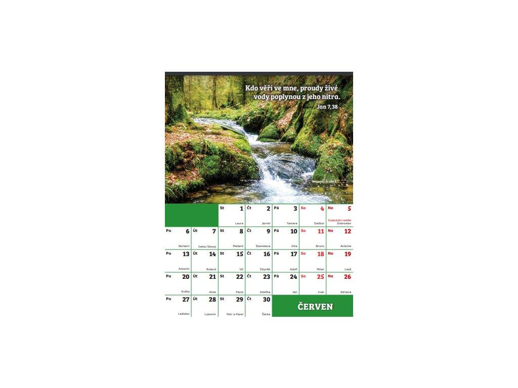 Pohlednicový kalendář na rok 2022 ( zdarma dvoufilm + audio )