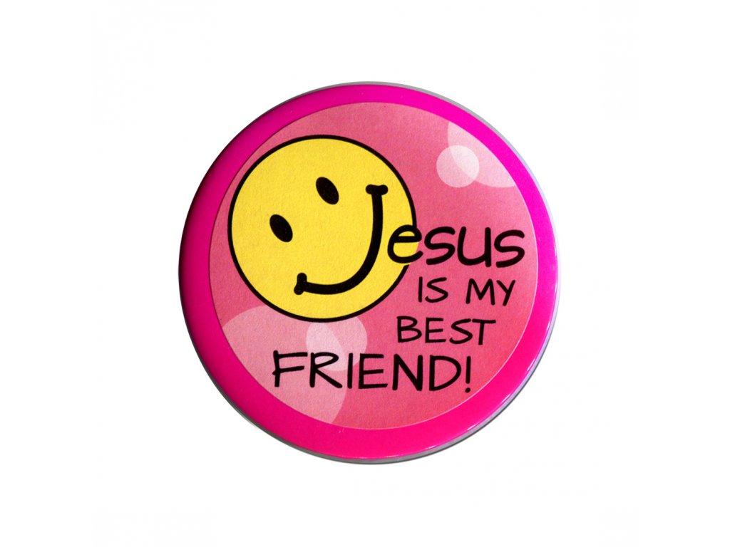 Kapesní zrcátko – Jesus is my best friend!