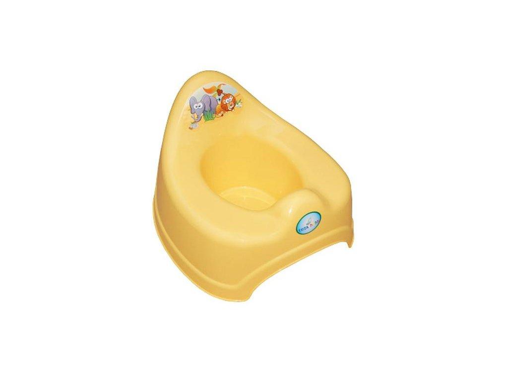 Detský nočník Safari žlutý