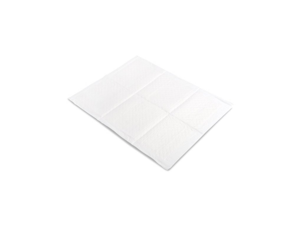 Jednorazová podložka Sensillo 60x60 - 10 ks biela