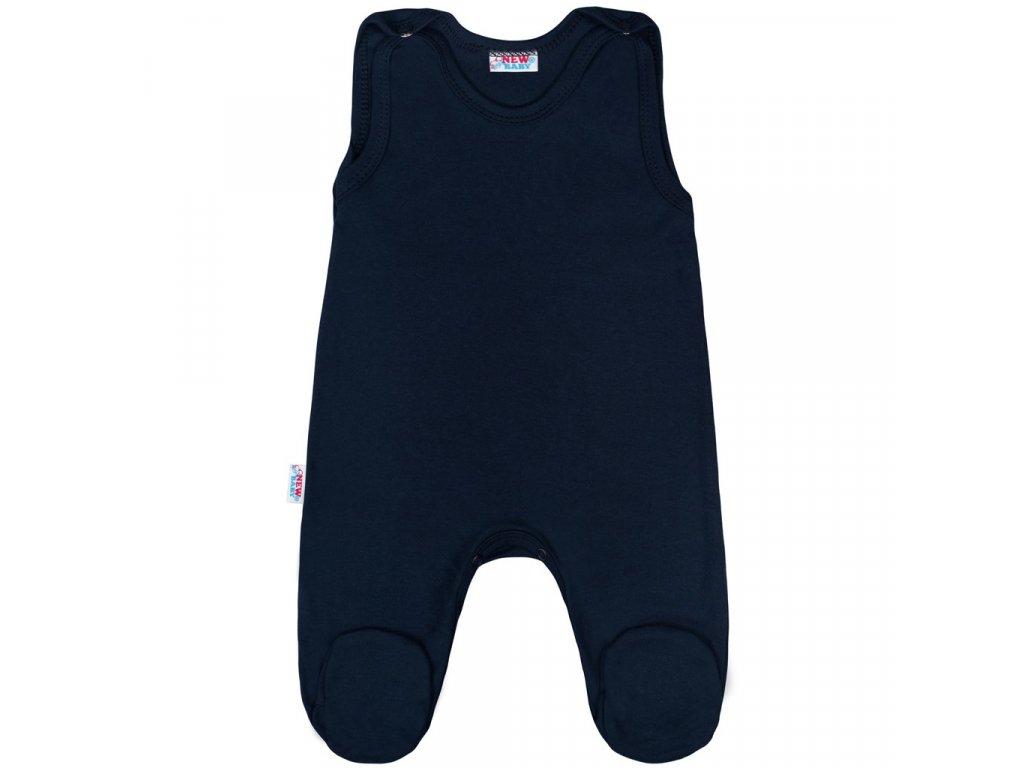 Dojčenské dupačky New Baby Classic II tmavo modré