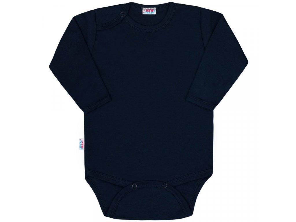 Dojčenské body New Baby Classic II tmavo modré