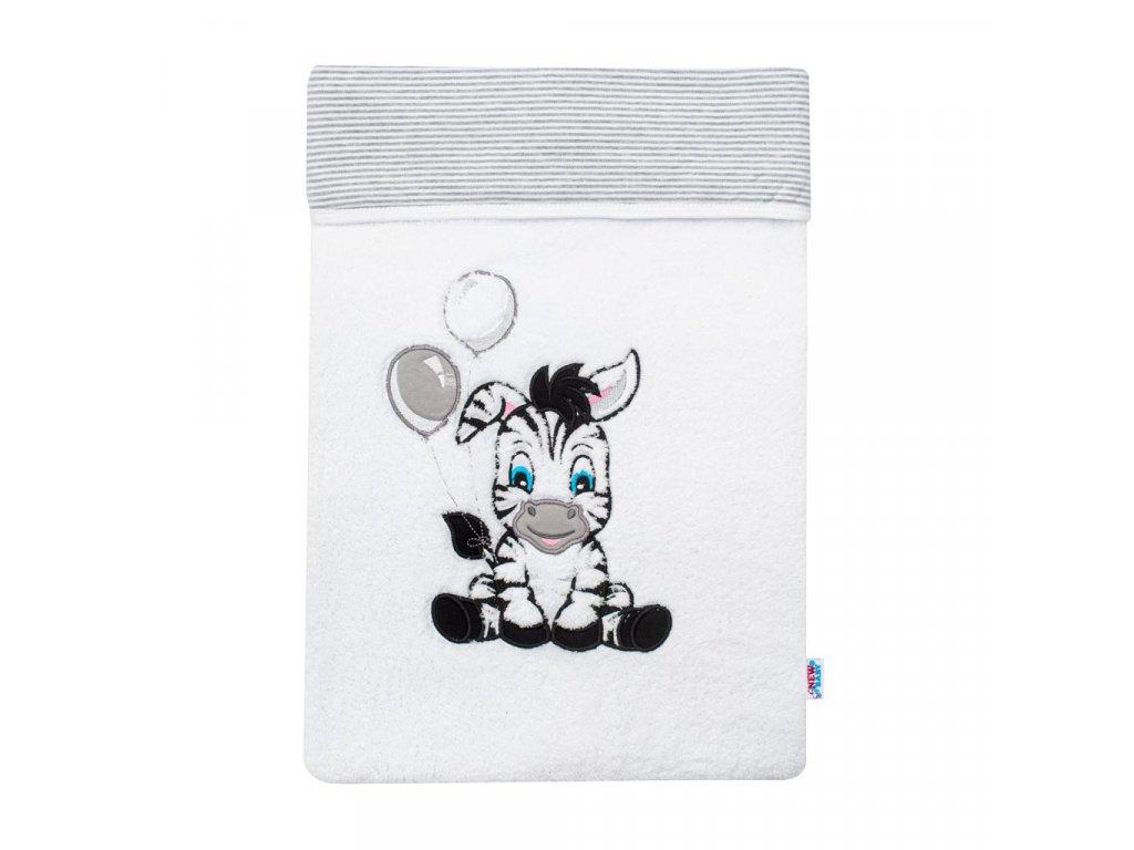 Luxusná detská zimná deka New Baby Zebra 110x90 cm