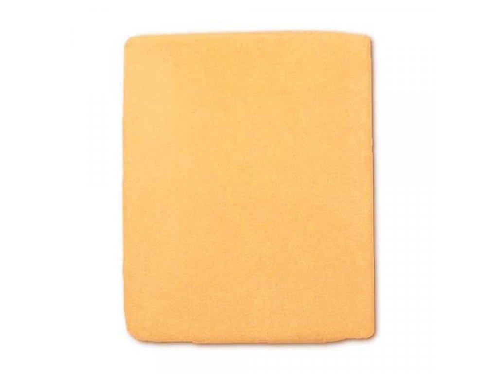 Nepremokavé prestieradlo New Baby 120x60 oranžová