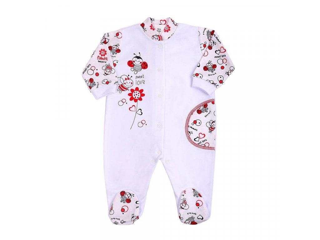 Dojčenský overal New Baby Lienka