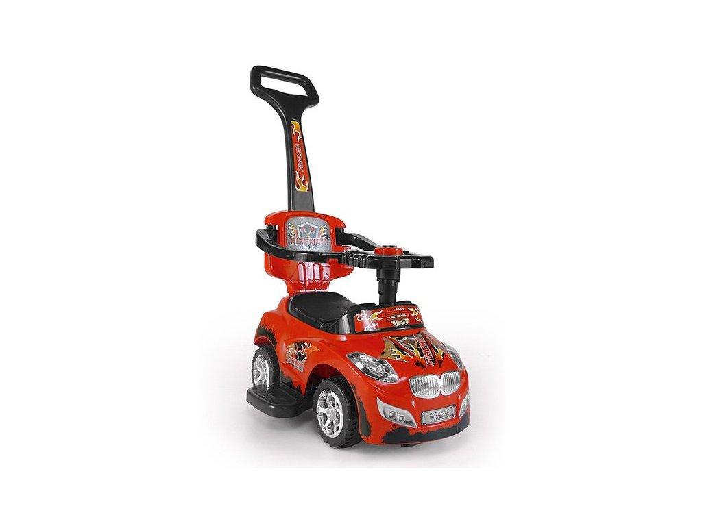 Detské jezdítko 2v1 Milly Mally Happy red
