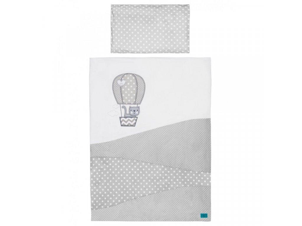 5-dielne posteľné obliečky Belisima Balón 100x135 biele