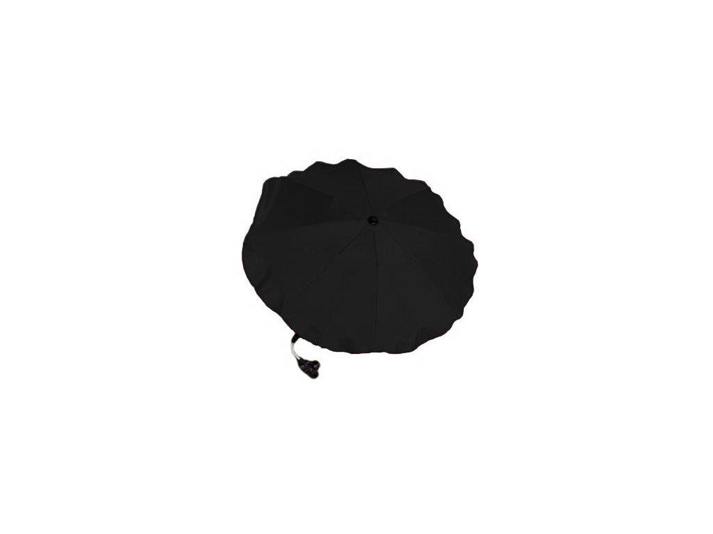 Slnečník na kočík čierny