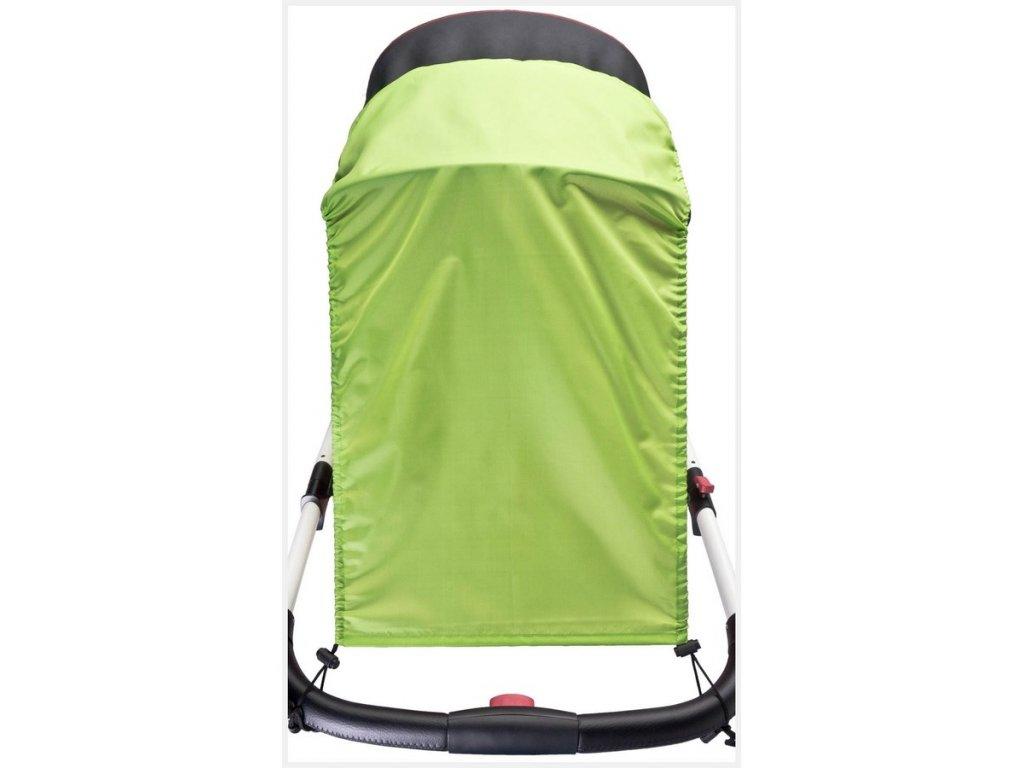 Slnečná clona na kočík CARETERO green