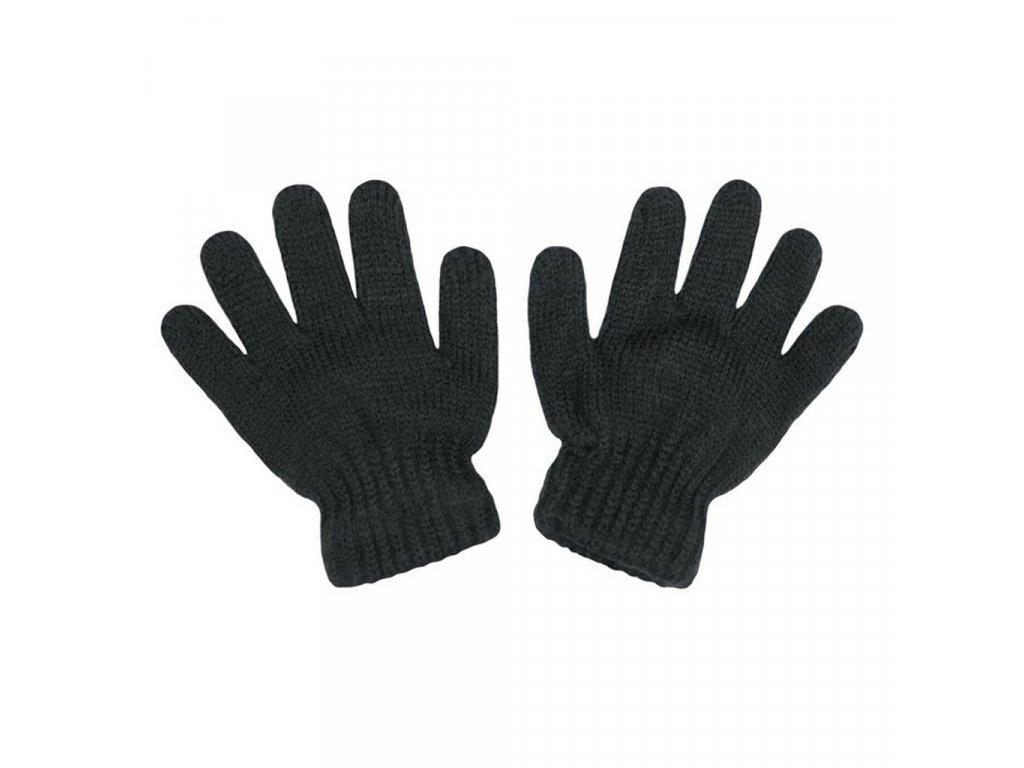 Detské zimné rukavičky New Baby sivé