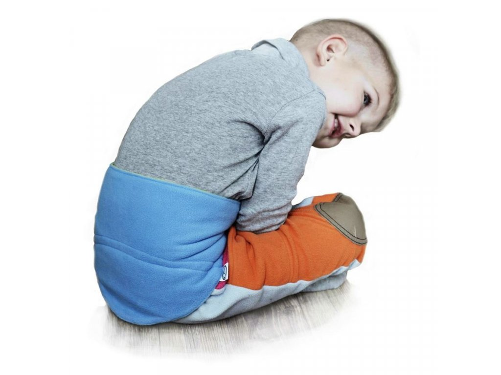 Detský bederňáčik 0-5 rokov VG malinovo-ružový