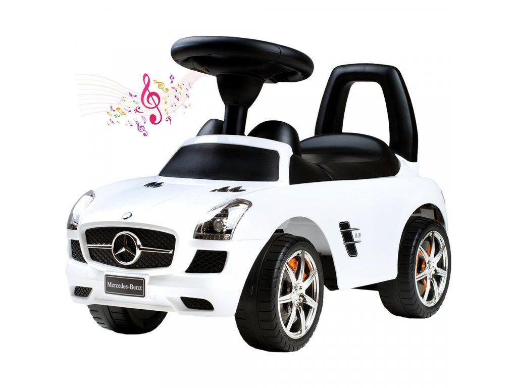 Detské jazdítko-odrážadlo Bayo Mercedes-Benz white