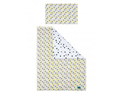 5-dielne posteľné obliečky Belisima Mačiatka 100/135 žluté